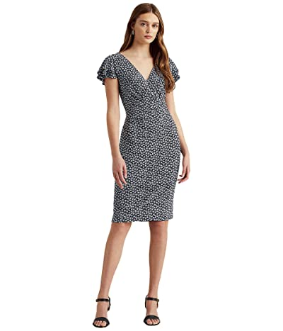 LAUREN Ralph Lauren Short Sleeve Day Dress Women