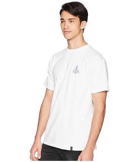 OPS Triple blanca Disaster camiseta HUF Triangle 5zAq4x8xw6
