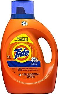 Sponsored Ad - Tide Laundry Detergent Liquid, Original Scent, HE Turbo Clean, 64 Loads