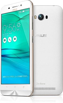 【国内正規品】ASUSTek ZenFone Max (SIMフリー/Android5.0.2 /5.5inch /デュアルmicroSIM /LTE)(2GB/16GB) (ホワイト) ZC550KL-WH16