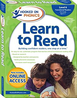 Hooked on Phonics Learn to Read - Level 6: Transitional Readers (First Grade | Ages 6-7) (6)