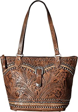 Blue Ridge Zip Top Tote