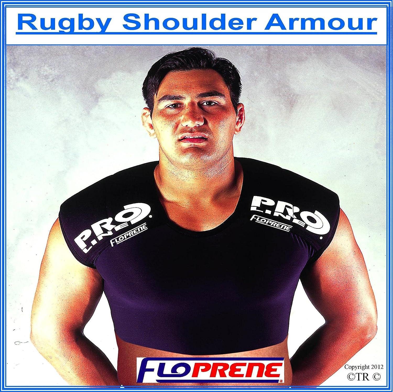Proline Floprene Neoprene Our shop most popular Rugby Shoulder Protector - Colorado Springs Mall Glove Black