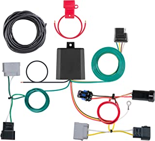 CURT 56330 Vehicle-Side Custom 4-Pin Trailer Wiring Harness for Select Dodge Journey