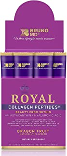 Bruno MD Royal Collagen Peptides - Beauty from Within, Clinically Proven, Dietary Supplement, Improves Skin...
