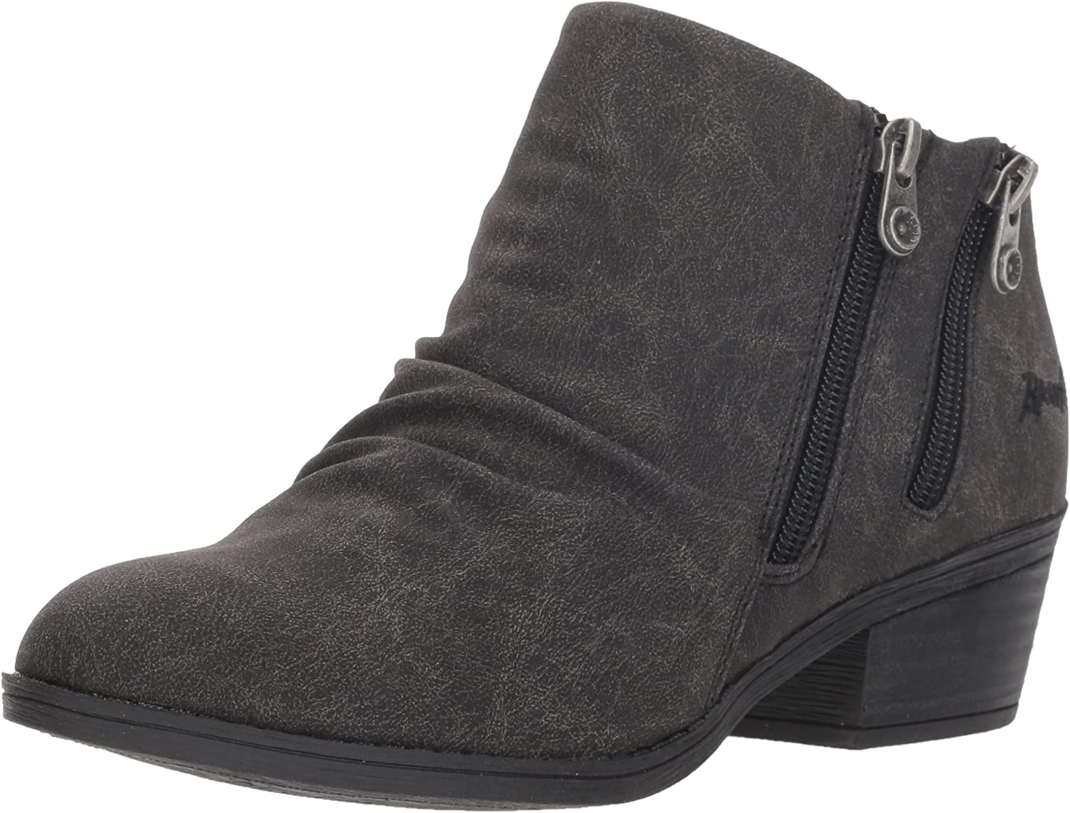 Blowfish Women's Storz Ankle Boot, Black Spindal Polyurethane, 6 M US