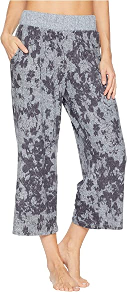 Crop Flare Pajama Pants