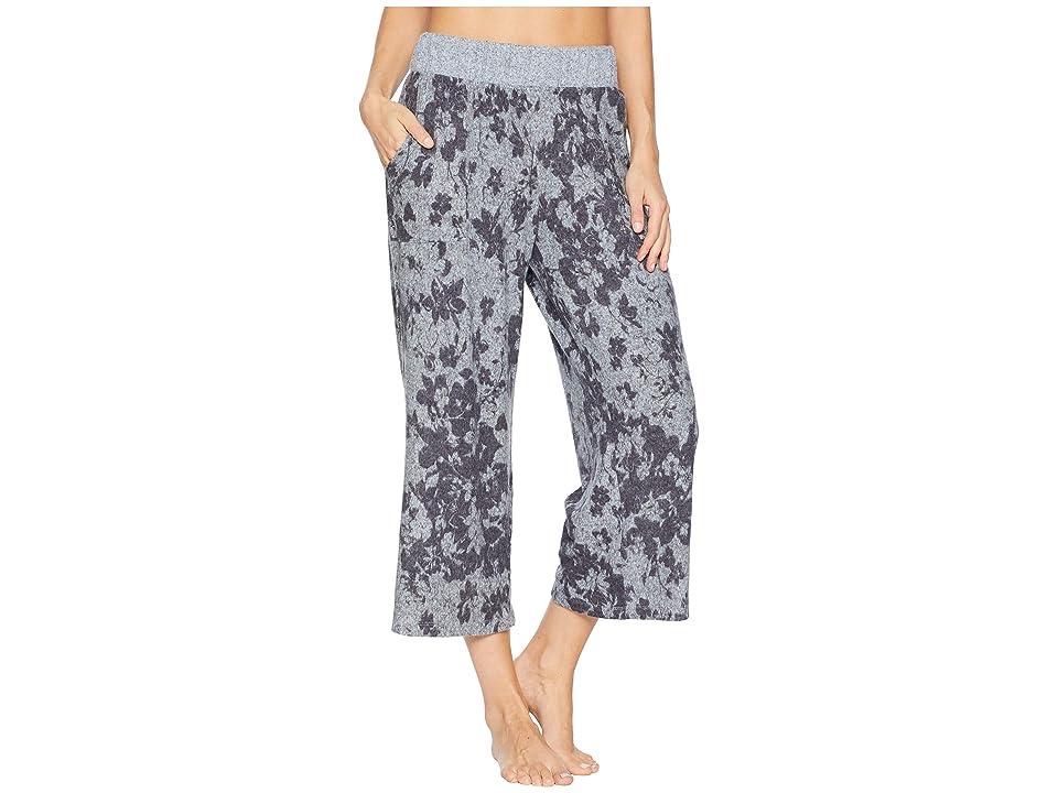 Splendid Crop Flare Pajama Pants (Wildflower Garden) Women