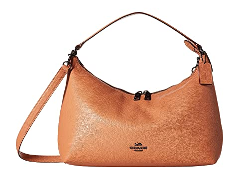 d799888e44 COACH Pebbled Leather East West Celeste Convertible Hobo at 6pm