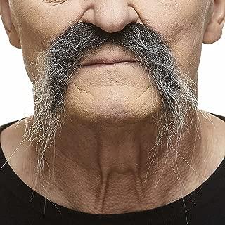 Mustaches Self Adhesive, Novelty, Realistic Fu Manchu Fake Mustache