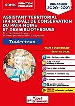 Livres Concours Assistant territorial et Assistant principal de conservation du patrimoine et des bibliothèques - Catégorie B - Tout-en-un - PDF