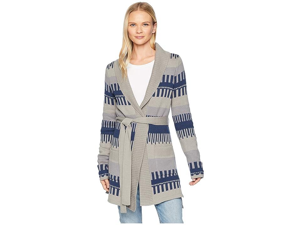 Mountain Khakis Eclipse Long Cardigan (Jacquard Pattern) Women