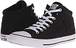 add5cb1f31c9 Converse. Chuck Taylor® All Star® Leather Hi.  64.95. 5Rated 5 stars.  Black Black White