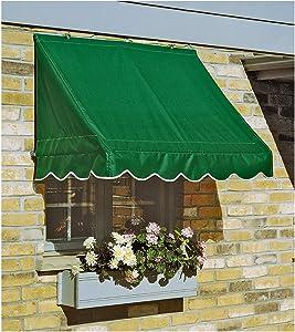CASTLECREEK 8' Window and Door Awning, Linen