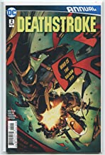 Deathstroke #2 NM ANNUAL Who Is The Balkan ??? DC Comics CBX 36