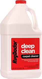 Rug Doctor Industrial Deep Carpet Cleaning Solution, Carpet Detergent for Removing Tough Stains and Stubborn Dirt, Great for Home and Office, 128 oz.