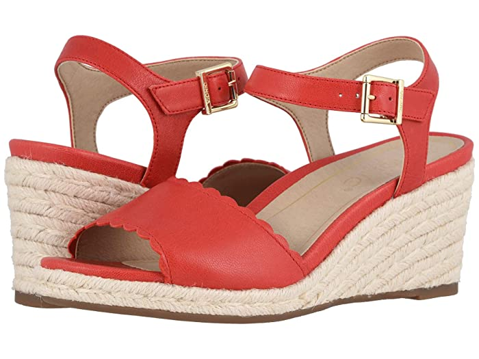 Vintage Sandals | Wedges, Espadrilles – 30s, 40s, 50s, 60s, 70s VIONIC Stephany Cherry Womens Shoes $113.96 AT vintagedancer.com
