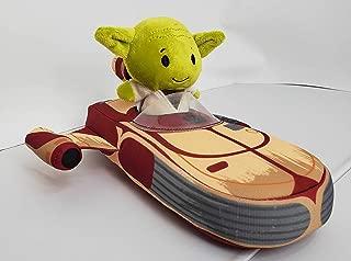 SW Star Wars The Mandalorian Itty Bitty Stuffed Animal Baby Yoda Plush in X-34 Landspeeder