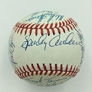 Beautiful 1988 Detroit Tigers Team Signed Baseball Sparky Anderson Alan Trammell - Autographed Baseballs