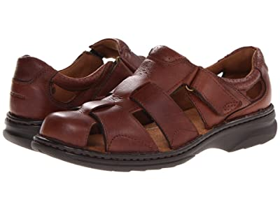 Florsheim Getaway Fisherman Sandal (Brown) Men