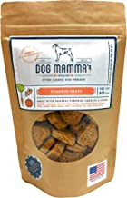 Dog Mamma's Oven Baked Organic Dog Treats Made in USA Handcrafted 3 Flavors 8 oz Pouch