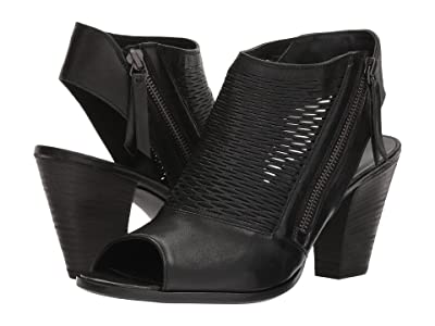 Paul Green Willow (Black Leather) Women