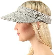 SK Hat shop UPF UV Sun Protection Wide Brim 100% Cotton Beach Pool Visor Golf Cap Hat
