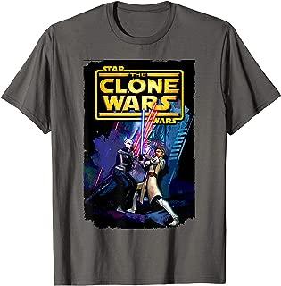 Clone Wars Obi-Wan Kenobi and Asajj Ventress T-Shirt