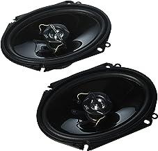 "JVC CS-J6820 6"" x 8"" Car Audio Speaker with 2-Way Coaxial (Black) photo"