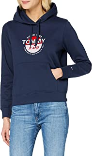 Tommy Hilfiger Tjw Essential Logo Hoodie Maglione Donna