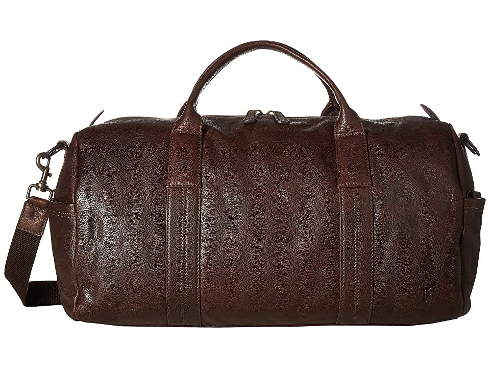 Frye Dylan Duffel (Dark Brown) Duffel Bags