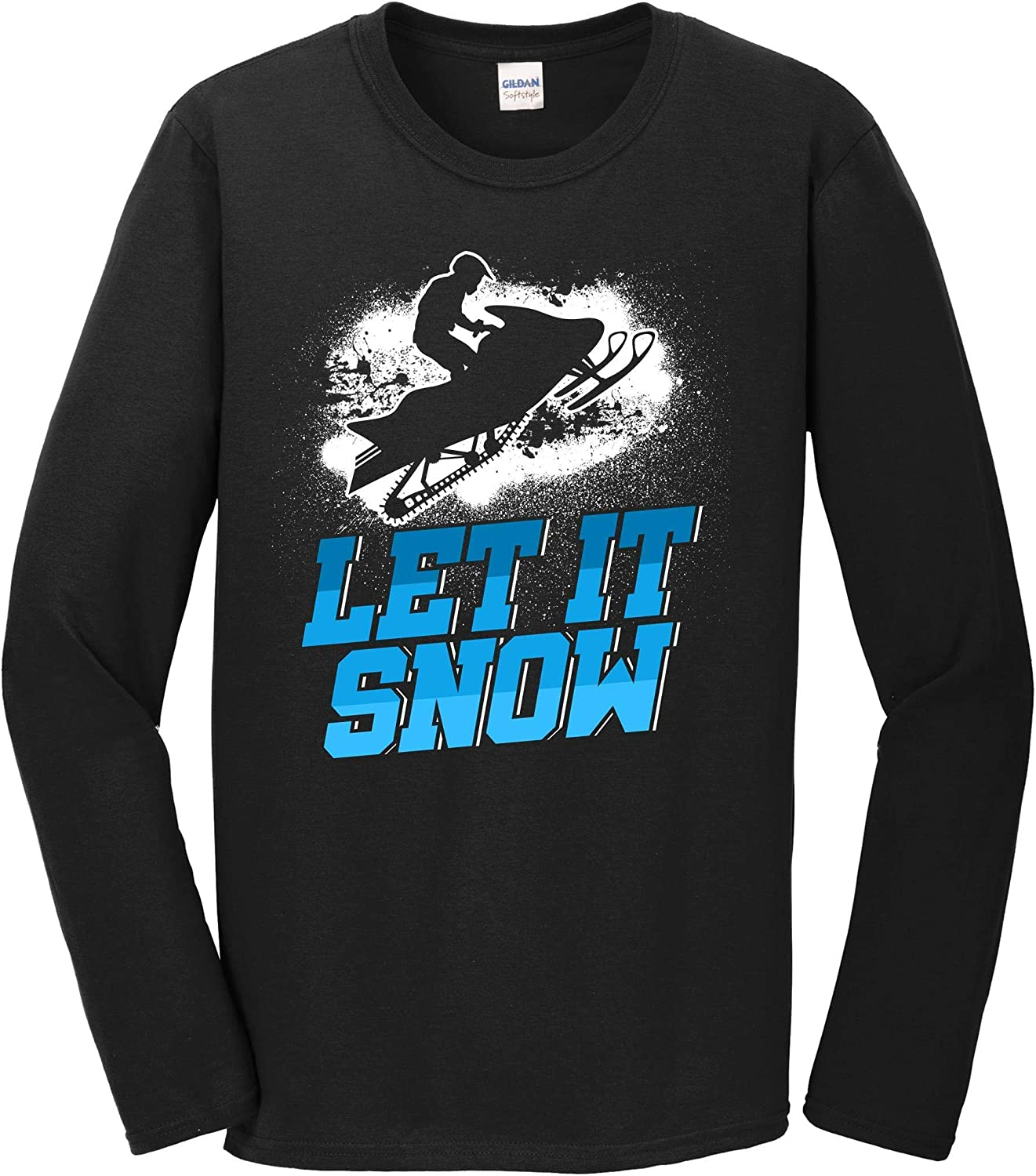 Really Awesome Shirts Let It Snow Snowmobile T Long Sleeve Funny 5 ☆ Max 53% OFF popular