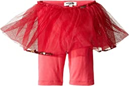 Satine Leggings with Attached Tulle Skirt (Infant)