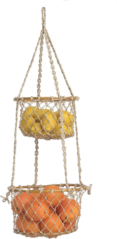 Fab Habitat Prairie Hanging Macrame - Luxury goods All Basket Handmade Natur outlet