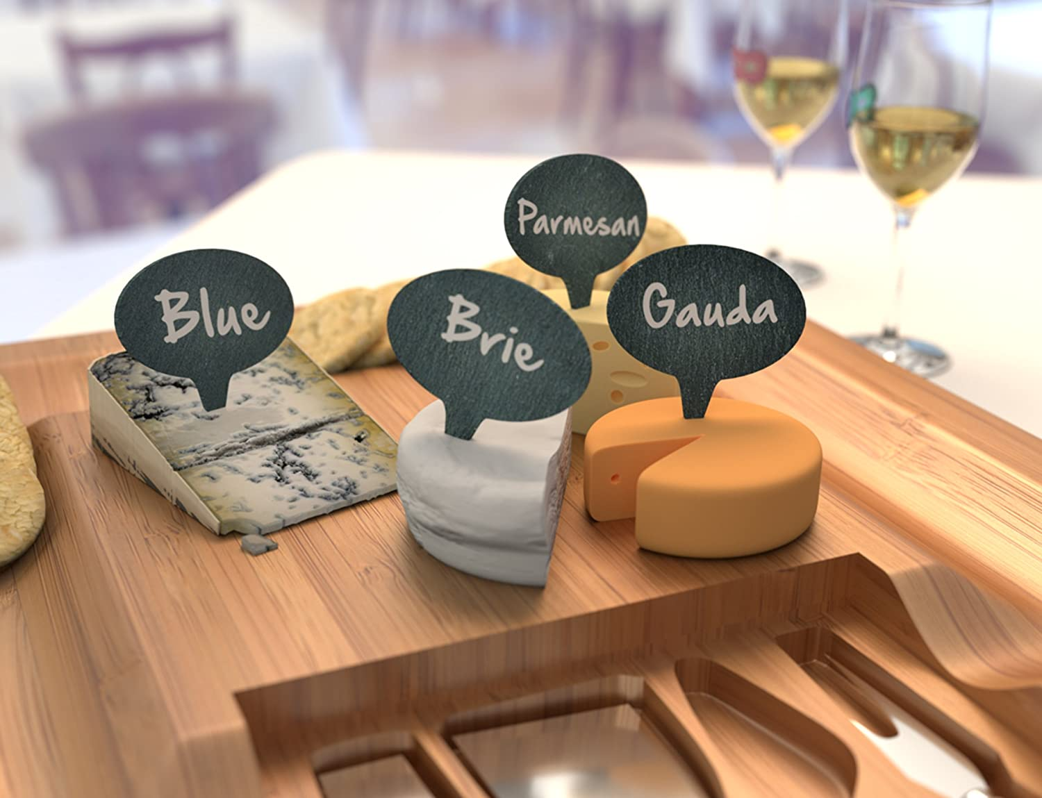 Cheese Outlet sale feature Marker Gift Set of 4 2 Chalk Wi Markers Labels Be super welcome -