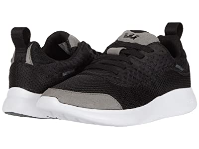 Supra Factor Tactic (Black/Grey/White) Men