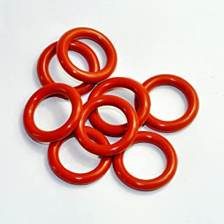 Cary 19mm ID 5mm Thickness Tube Dampers Silicone O-ring Amp For Shuguang 12AX7 12AU7 12AT7 12BH7 EL84 10pcs