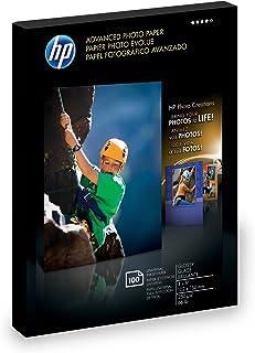 Hp Advance Glossy Paper 4X 6 100 Sht 100 Sheets of 4 X 6 Borderless Glossy Advan (Q6638A)