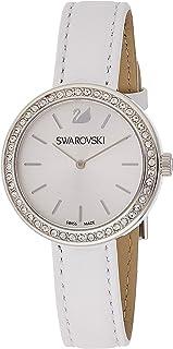 Swarovski Womens Quartz Watch, Analog Display and Leather Strap 5095603