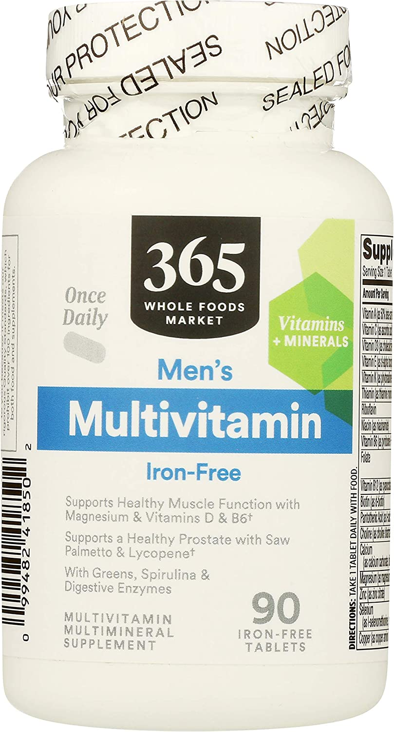365 by WFM Multi Mens 90 Special Campaign Daily One Tablets Opening large release sale