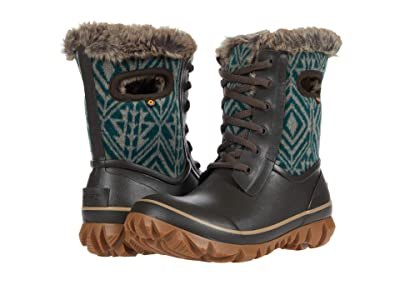 Bogs Arcata Geo (Brown Multi) Women