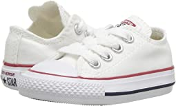 Optical White. 2652. Converse Kids. Chuck Taylor® All Star® Core Ox (Infant  Toddler) 5654d5035