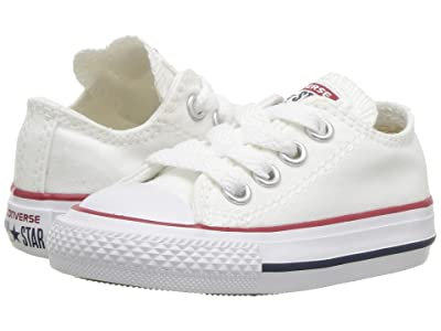 Converse Kids Chuck Taylor(r) All Star(r) Core Ox (Infant/Toddler) (Optical White) Kids Shoes