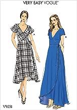 Green 6-8-10-12-14 Vogue Patterns V9267A50 Dresses