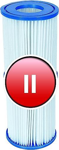 Bestway Lot de 4Cartouches de Filtration pour Pompes de Piscine Intex Taille 2
