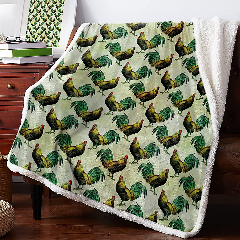 IDOWMAT Sherpa Direct stock discount Fleece Blanket 60x80 Rev Fluffy Albuquerque Mall in Soft Plush