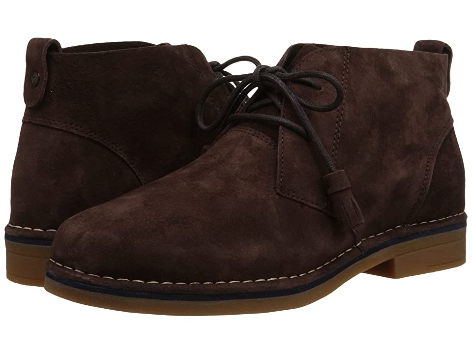 Hush Puppies Cyra Catelyn (Dark Brown Suede) Women