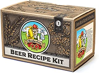 Craft a Brew Ingredient 1 Gallon Oktoberfest Ale Recipe Kit – Make Your Own Beer with Home Brewing 1 Gal
