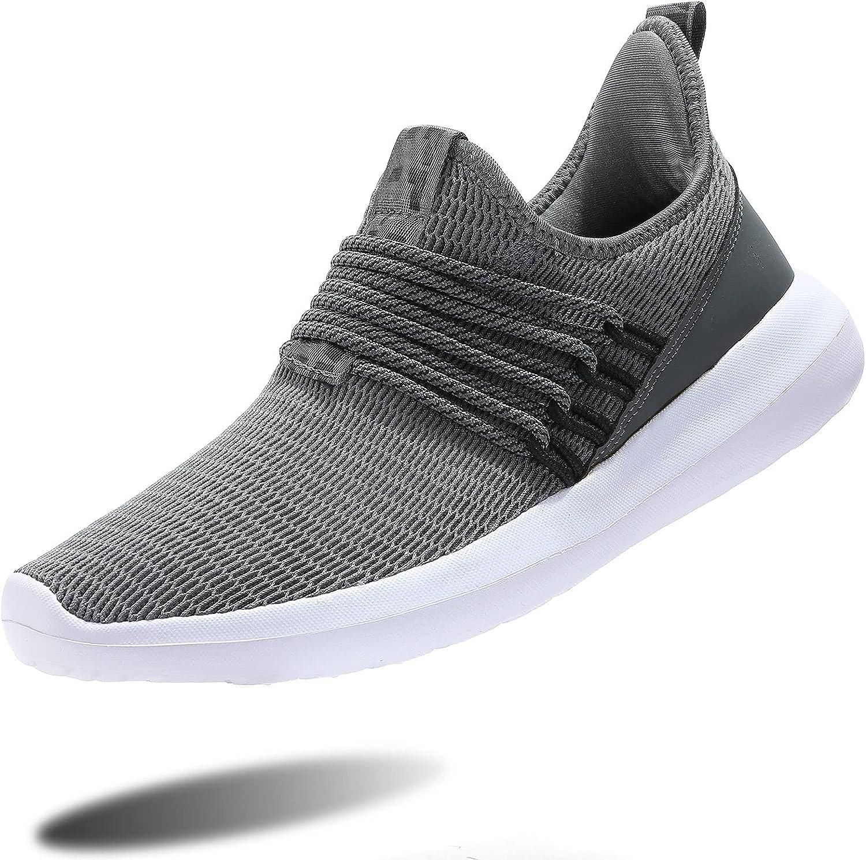 Mens Running Shoes Boston Mall Slip-on Tennis Lightwei Sneakers Walking Recommendation Mesh