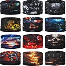 Generic Unisex Headwear Headband Head Wrap UV Resistence Sports Bandana Magic Scarf Face Mask (Assorted Color and Design) ...
